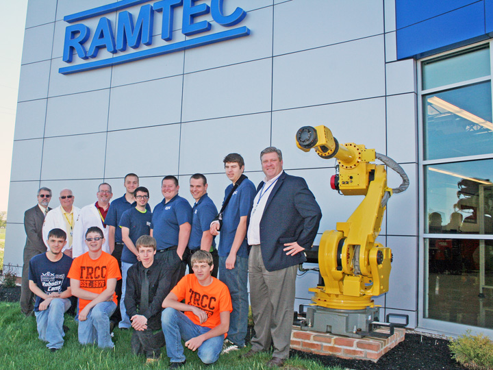 RAMTEC Honors First High School Students to Achieve FANUC