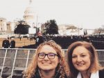 Morgan DeWitt and her mother recently visited Washington, D.C. during inauguration ceremonies for the 45th President of the United States.