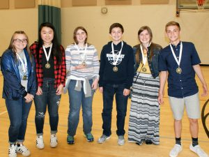 River Valley Middle School was awarded third place at the Marion Middle School Mathematics Challenge.