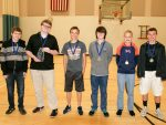 North Union Middle School was awarded first place at the Marion Middle School Mathematics Challenge.