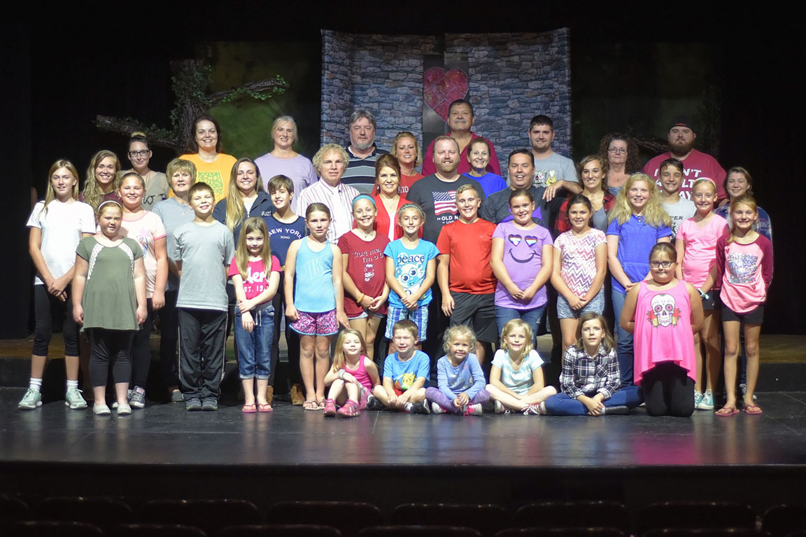 shrek the musical hits star theatre stage this weekend
