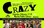 """Crazy"" murder mystery to benefit library programs"