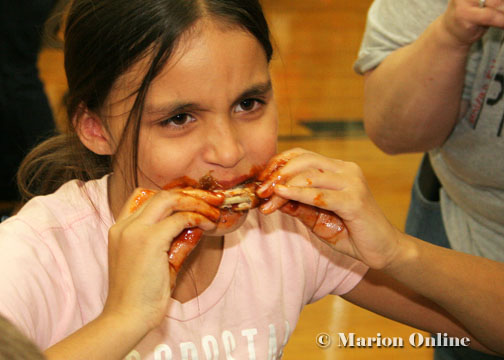osum team wins contest by one hot wing marion online